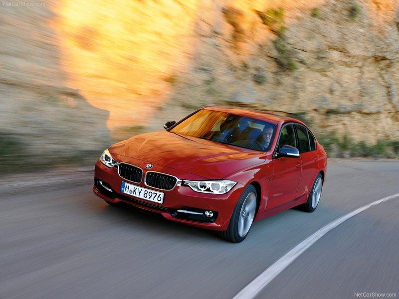 Nouvelle BMW série 3 en février 2012