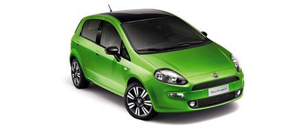 Fiat Punto 2012 vue extérieur