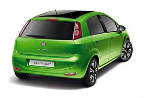 Fiat Punto 2012 vue extérieur arrière