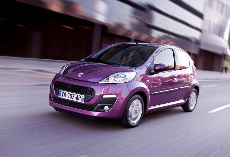Peugeot 107 - 2012
