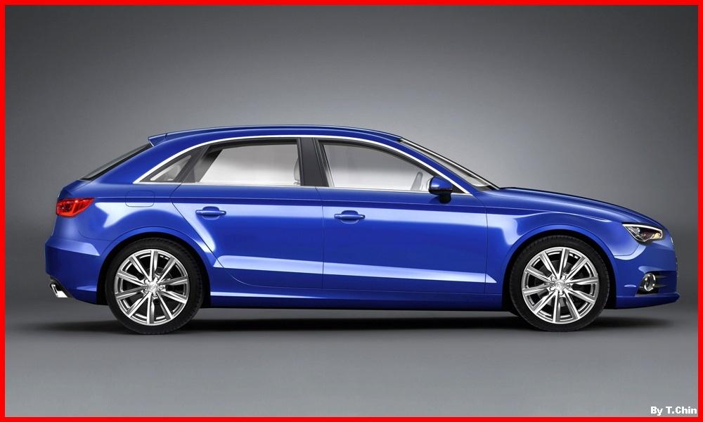 Audi A3 Sportback 2012 vue extérieur 2
