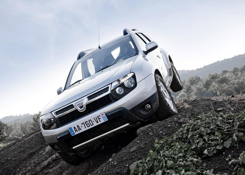 Dacia Duster le 4×4 low cost