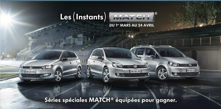 Les instants Match Volkswagen : la balle est dans votre camp