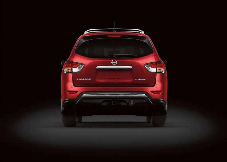 Nissan Pathfinder Concept - vue arrière