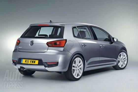 Volkswagen GOLF 7 vue arrière