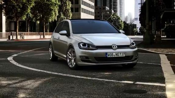 Nouvelle Golf VII, vedette du constructeur Volkswagen