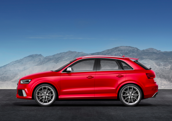 Audi RS Q3 rouge 01