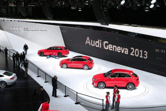 Audi Geneve 2013