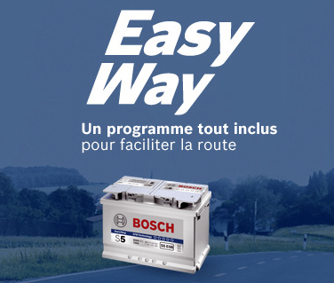 bosch lance le programme easy way news auto. Black Bedroom Furniture Sets. Home Design Ideas