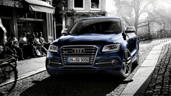 Audi SQ5 : vue de l'avant du SUV sportif