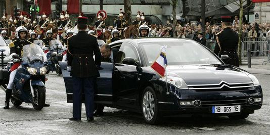 Sous Jacques Chirac c'était la Citroën C6