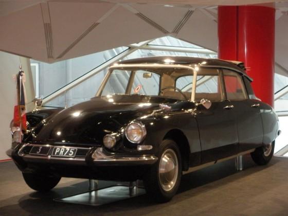 La Citroën DS19 du Président Charles de Gaulle