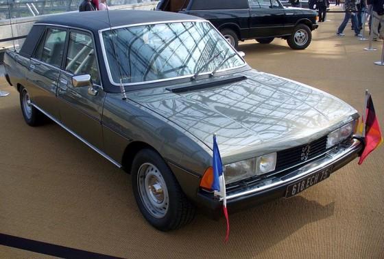 La Peugeot 604 de Valéry Giscard d'Estaing
