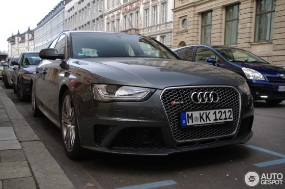 La favorite : l'Audi RS4 Avant