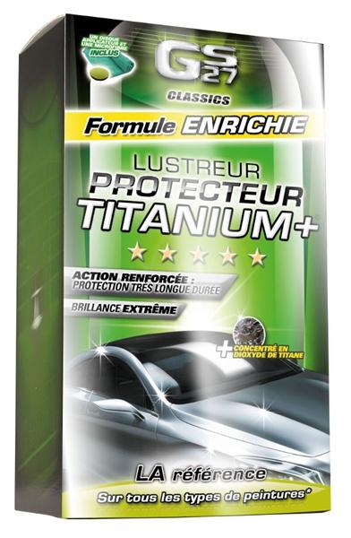Le lustreur haute protection Titanium+ de GS27