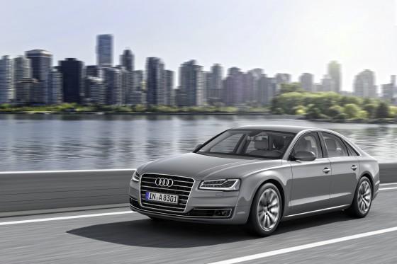 Nouvelle Audi A8 restylée