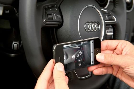 Utilisation de l'application Audi eKurzinfo