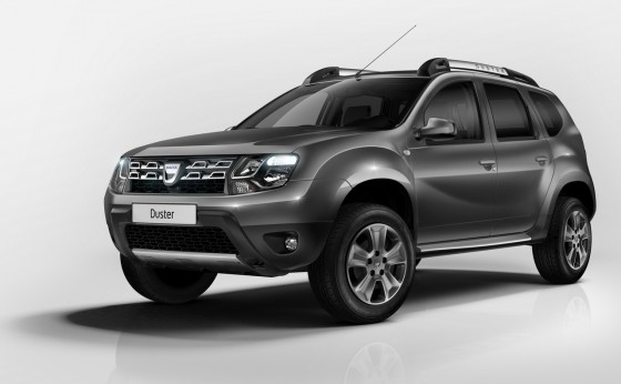 Photo du prochain Dacia Duster.