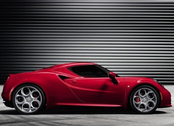Profil Alfa Romeo 4C