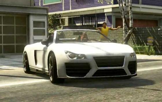 Audi R8 GTA 5