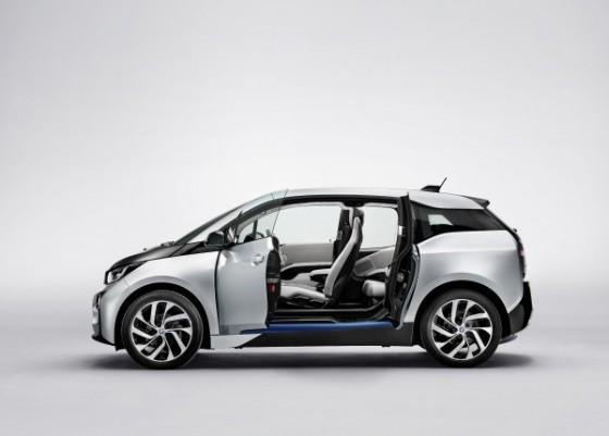 vue profil BMW i3