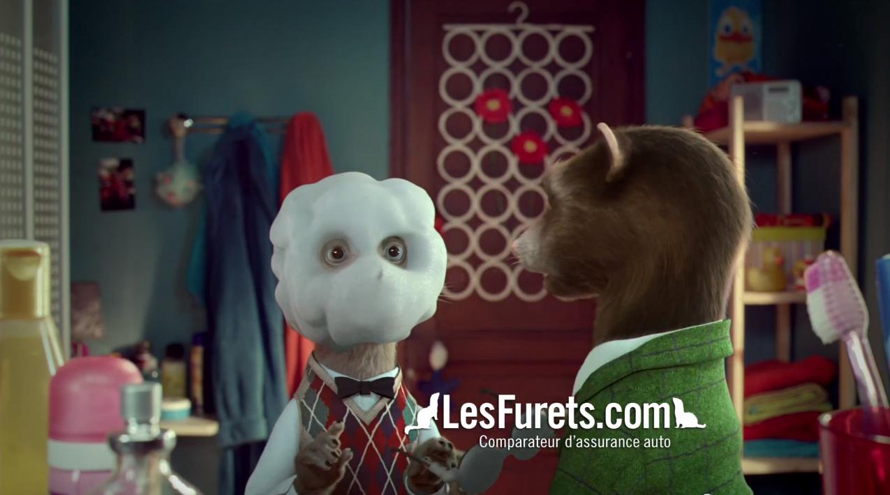 Les Furets dans scenes de menages sur M6