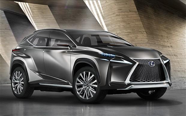Concept-car Lexus LF-NX : le futur du crossover [vidéo sponsorisé]