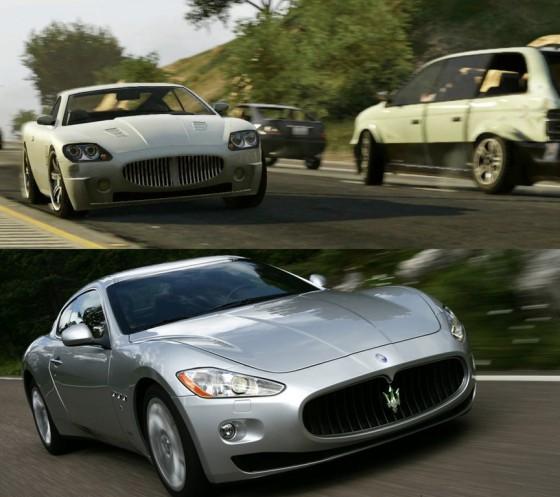 Maserati Granturismo GTA 5