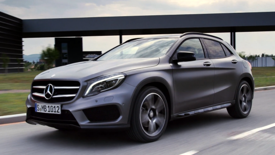 nouveau Mercedes GLA