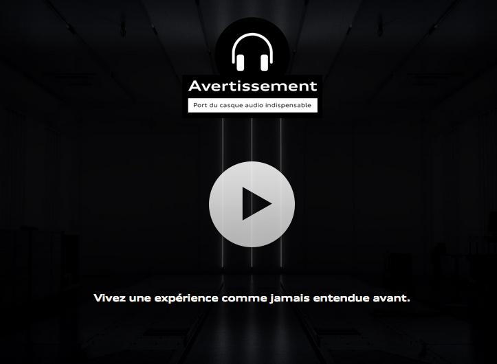 Vivez l'expérience holophonique à bord de la nouvelle Audi RS6 [vidéo sponsorisée]