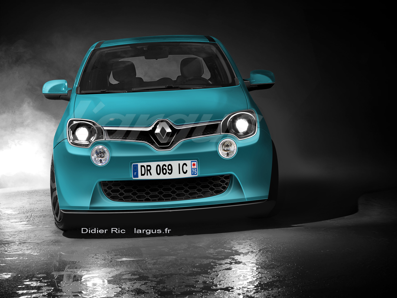 Les photos exclusives de la nouvelle Renault Twingo III 2014