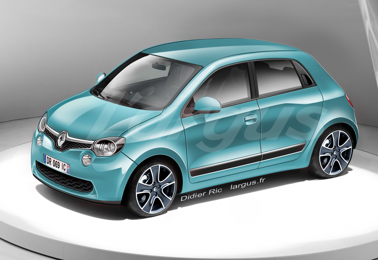 photos exclusives de la nouvelle renault twingo 3 news auto. Black Bedroom Furniture Sets. Home Design Ideas