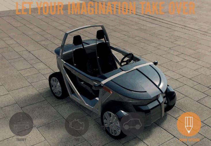 Urban Tabby : construisez et conduisez votre voiture en Kit !