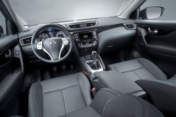 interieur Nissan Qashqai 2014
