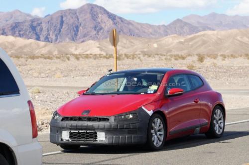 Volkswagen Scirocco : un restylage imminent ?