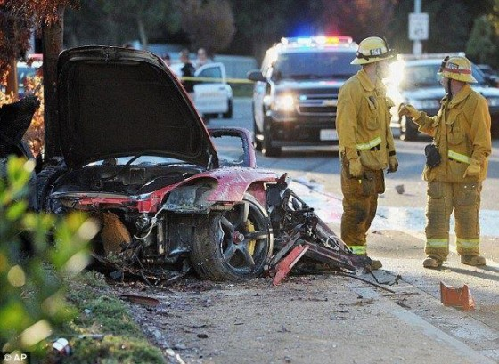 accident voiture Paul Walker Fast and Furious