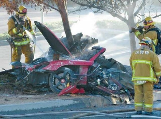Accident Paul Walker alias Brian O'Conner
