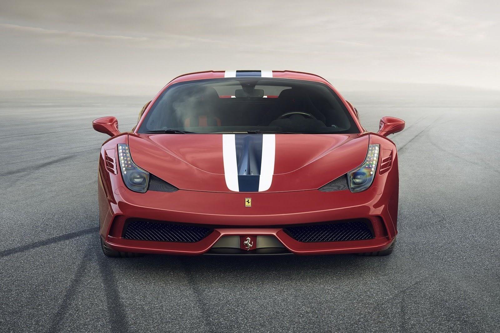 La voiture de mes rêves est une Ferrari 458 Spéciale !