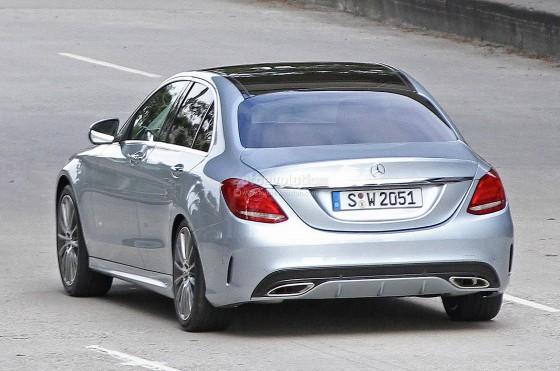 Arriere Mercedes Classe C 2014