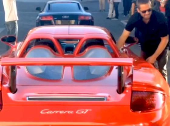 Paul Walker Porsche Carrera GT