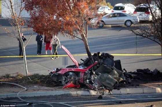 Accident Carrera GT Paul Walker