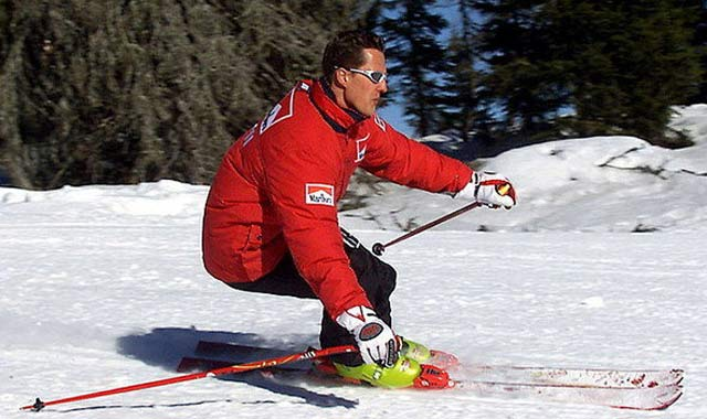 michael schumacher accident ski