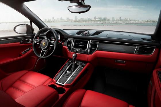 Porsche Macan interieur
