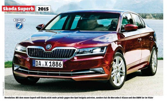 future Skoda Superb