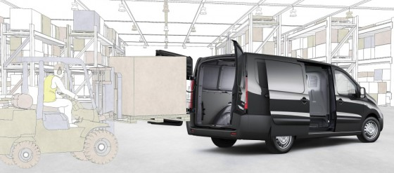Toyota Proace chargement