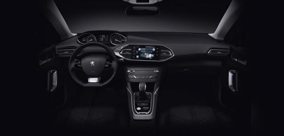 interieur nouvelle Peugeot 308 SW