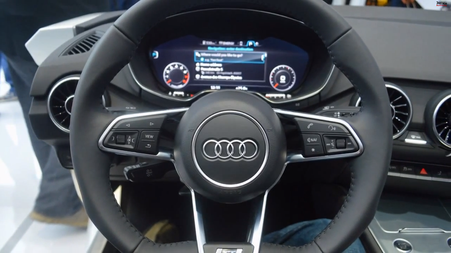 video nouvelle audi tt 2014 la marque d voile son int rieur news auto. Black Bedroom Furniture Sets. Home Design Ideas