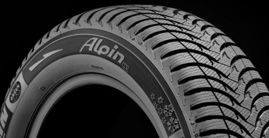 pneu hiver alpin a4