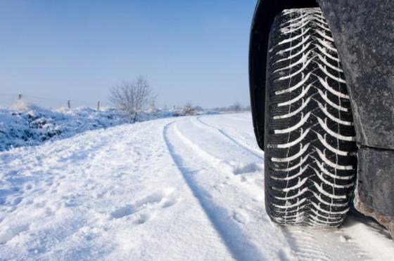route neige