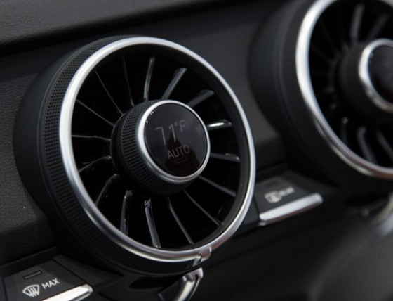 Ventilation reglage temperature audi TT 2014